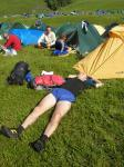 Phew! Most teams finished in time for a spot of sunbathing