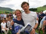 Helen Thorburn and Geoff Kirk, 1st mixed team on the A Course