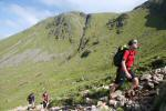 Onwards and upwards to the col between Beinn Dorain and Beinn an Dothaidh