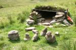 Tigh nam Bodach, the 'house of the old man', site of Novice course control 2