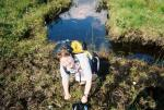 Another 'below knee' beauty treatment, courtesy of Scotlands bogs